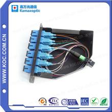 Ventes chaudes de cassette optique de fibre de MTP / MPO Lgx