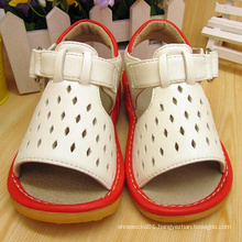 2016 Baby Boy Squeaky Sandals White