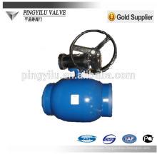 trunnion DIN full welded ball valve Q761F-25