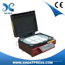 Máquina da imprensa do calor vácuo 3D para impressão caso de telefone celular