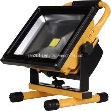 30W 220V 6600mAh impermeável de emergência LED Floodlight
