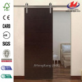 Modern Stained Hardwood Interior Barn Door Slab