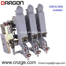FZRN63-12D / T200-31.5 interruptor pneumático de alta tensão do vácuo de 12kv do tipo carga