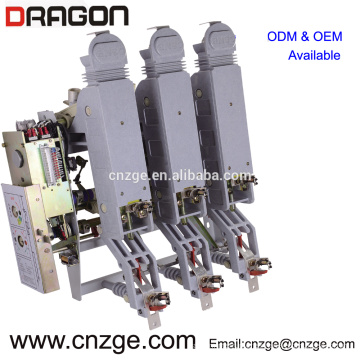 FZRN63-12D / T200-31.5 12kv interruptor de carga neumático de alto voltaje de vacío