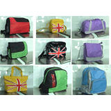 Colorful Backpack Messenger Bags, Promotion Shoulder Bag With Wide Webbing Shoulder Strap