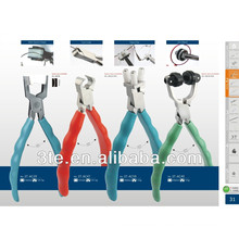 Optical pliers tools
