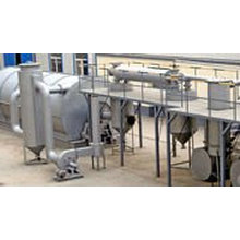 Fuel oil tyre recycling plant