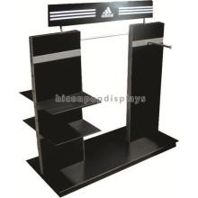 Nova invenção Loja de calçados Prático Desktop Preto Acrílico Sporting Canvas Shoes Display Rack