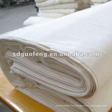 Tela 100% algodón gris para la prenda