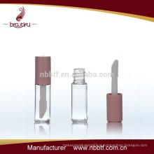 Plástico, claro, vazio, lipgloss, garrafa