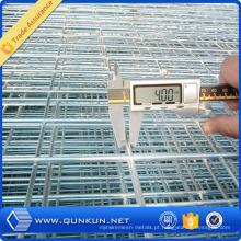 Rede de arame soldada galvanizada mergulhada quente usada para a construção