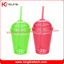 450ml Double Wall Straw Cup (KL-SC113)