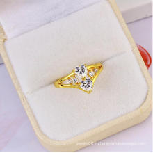 Новое горячее сбывание Xuping шикарное двойное сформированное сердцем кольцо диаманта