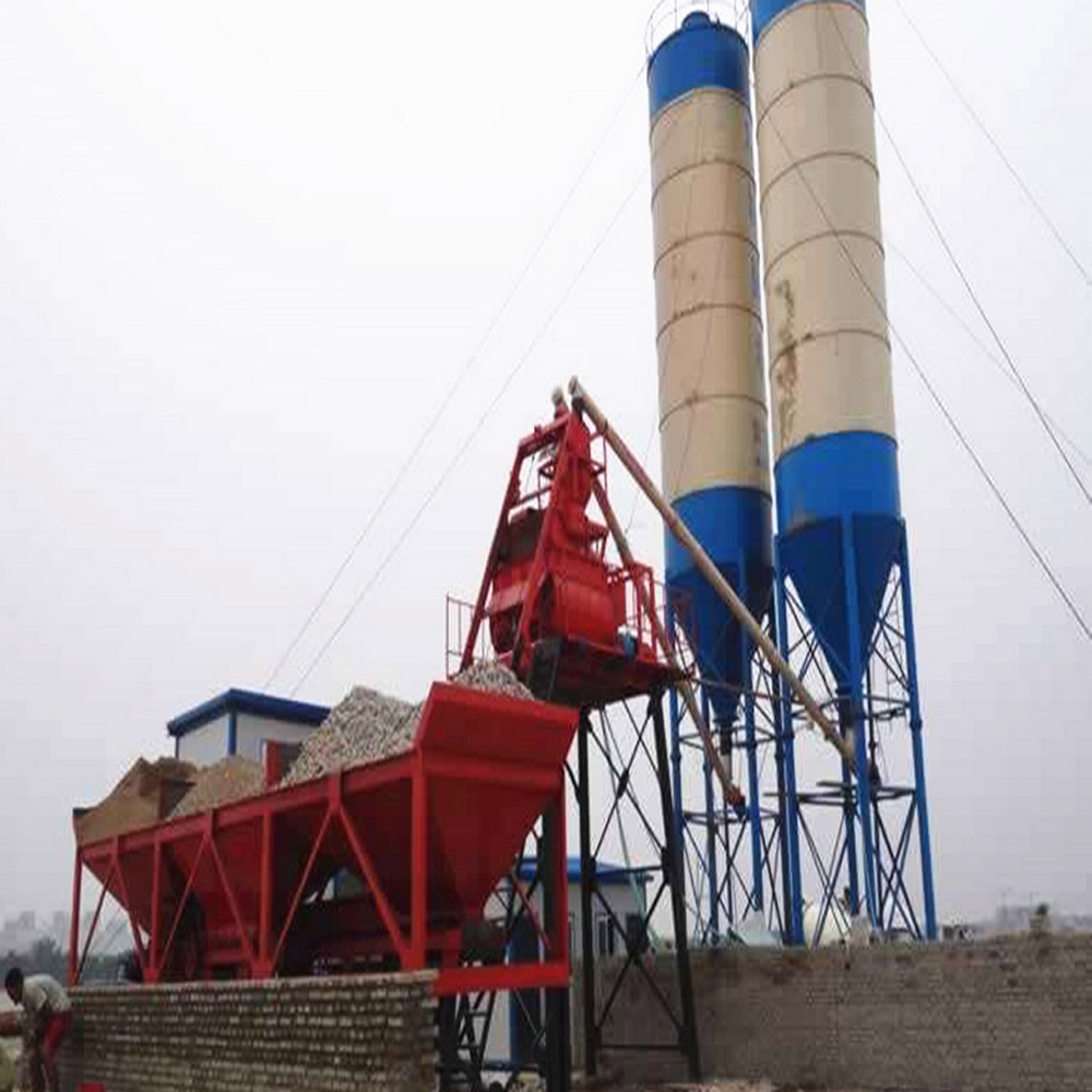 HzS60 mobile cement mixing