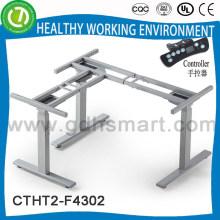 Höhenverstellbares Float-Schreibtisch-Set & L-förmiger Einsteller für den Schreibtischrahmen