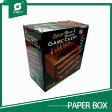 Распечатать гофротары коробки для игры в шахматы набор
