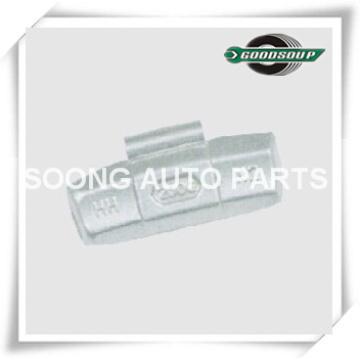 Aço / Fe Clip em Pesos de Balanço de roda para a roda de aço (caminhão), Revestimento de Poliéster Epóxi, Super Qualidade