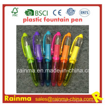 Mini Plastic Liquid Füllfederhalter mit schönen Mulit Farbe