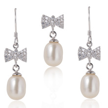 Conjuntos de jóias de pérolas, Pérolas brancas