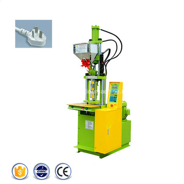 Plastic AC Plug Cable Injection Moulding Machine