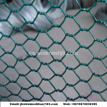 Red de alambre hexagonal galvanizada