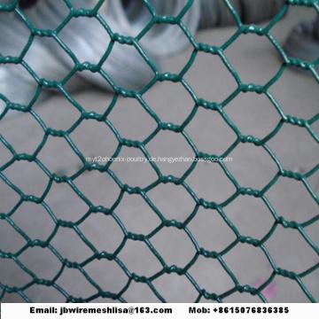 Galvanisierter sechseckiger Maschendraht-China-Hersteller