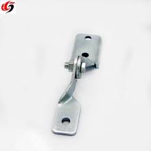 Electric system strut channel seismic bracing connector adjustable hinge