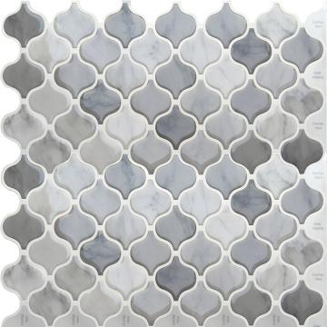 Azulejos de mosaico autoadhesivos 3D Peel Mosaic Kitchen