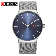 Fashion Stainless Steel Minimalist Mens Quartz Watches