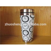 producto de moda de acero inoxidable taza personalizada de cerámica china, taza mágica, taza cambiante del color
