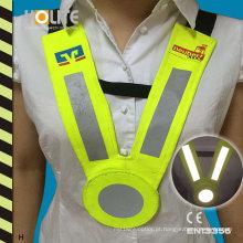 Colete reflector com CE En3356 para segurança na estrada