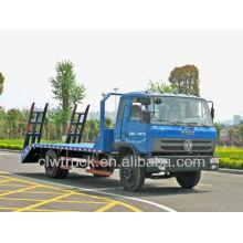 Dongfeng 145 Flachbett-Abschleppwagen, aus Porzellan-Flachbett-LKW gefertigt
