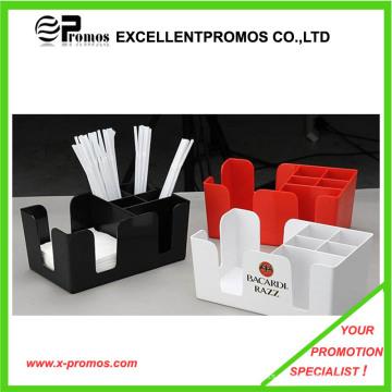 Sostenedor de plástico ecológico de promoción de la servilleta (EP-B1225)