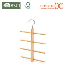 Деревянная вешалка для галстука (MP618) Деревянная вешалка