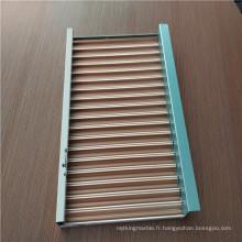 Panneaux composites en aluminium carré ondulé pour décoration de plafond