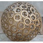 Ferro de aço inoxidável - arte esvaziando