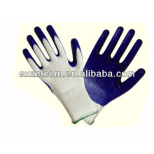 13 GUAGE GARDEN SAFETY GLOVE COATED WITH NITRILE SMOOTH PALM