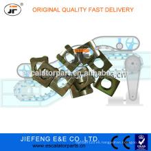Stock Escaltor Partes. Pinzas para paletas JFOtis Travelator. GAA339FP1 Clip