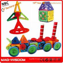 Jeu de camion de panneau magnétique pour enfants