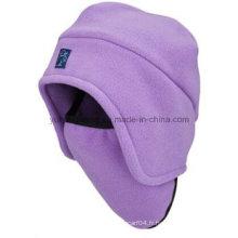 Chapeau / chapeau en molleton polaire chaud chaud à l'hiver