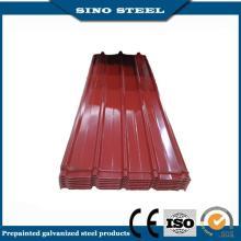 Ral3005 0,3 mm Dicke Steckverfahren Glavanized Dachbahn