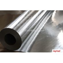doubl papel de aluminio lateral, lateral doble Foil-Scrim-Kraft Frente a, aislamiento de la hoja reflectante de aluminio térmica