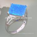 моделирование цветок дизайн ювелирные изделия опал кольцо