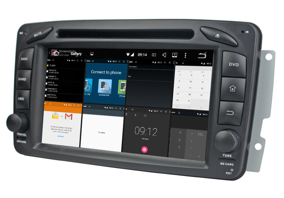 Android GPS Radio For Benz ML W163 2002-2005