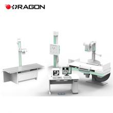 Sistema de radiografía digital de alta frecuencia 200ma máquina de rayos X