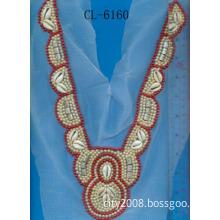 fashion shell bead collar