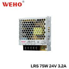 Fuente de alimentación delgada del conductor 75W 24V LED con Ce RoHS