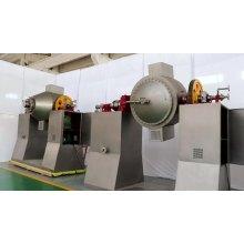 Misturador cônico de secador rotativo de cone duplo com lâminas