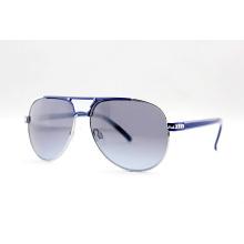 Gafas de sol polarizadas de la manera del metal con FDA / CE / BSCI (14130)