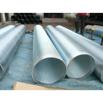 Tubo de tela de arame de ferro galvanizado